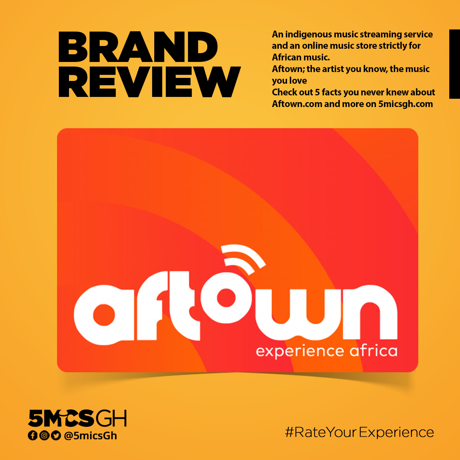 Brand Review Aftown 5micsgh